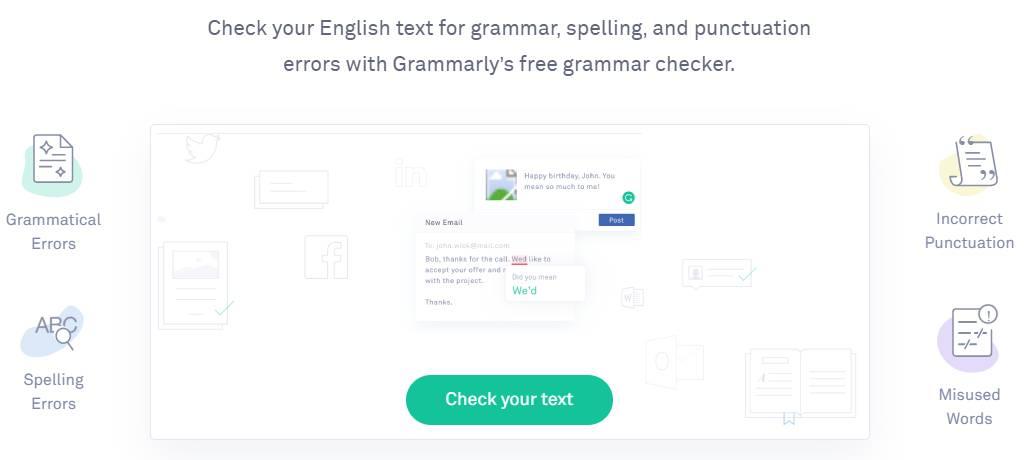 free grammarly check